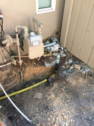 Gas Line Replacement
